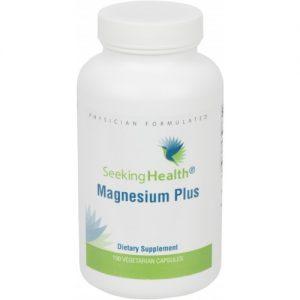 Magnesium Plus - 100 Vegetarian Capsules - Seeking Health
