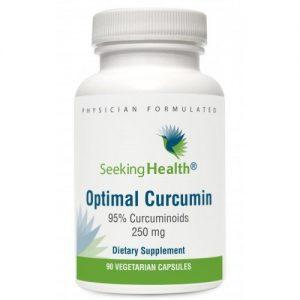 Optimal Curcumin - 90 Vegetarian Capsules - Seeking Health