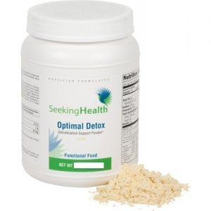 Optimal Detox Protein- Vanilla - 812 g - Seeking Health - SOI**