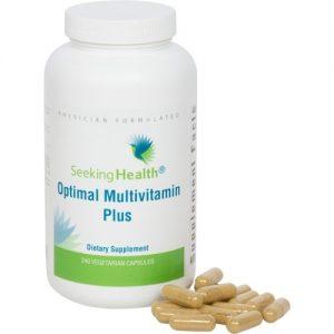Optimal Multivitamin Plus - 240 Vegetarian Capsules - Seeking Health