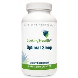 Optimal Sleep - 90 Vegetarian Capsules - Seeking Health