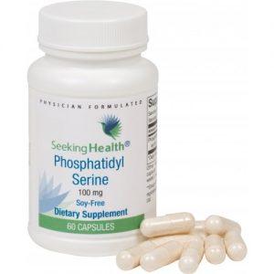 Phosphatidyl Serine (phosphatidylserine) - 100 mg - 60 Vegetarian Capsules - Seeking Health