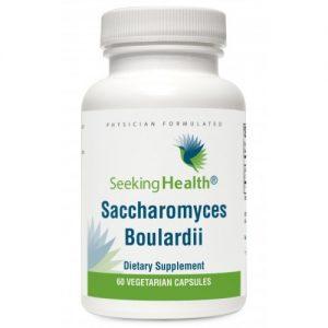 Saccharomyces Boulardii - 5+ billion CFU's -  60 Vegetarian Capsules - Seeking Health