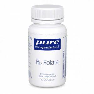 B12/B-12 Folate, 60 veg caps - Pure Encapsulations