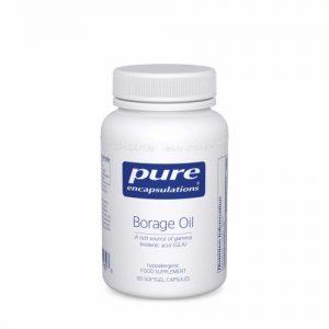 Borage Oil, 60 Softgels - Pure Encapsulations