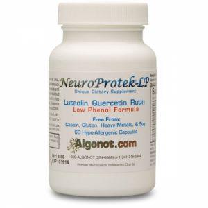 NeuroProtek LP (Low Phenol) 60 softgels - Algonot