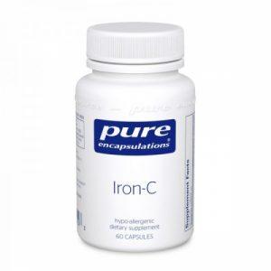 Iron-C, 60 veg caps - Pure Encapsulations
