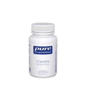 L-Carnitine 340mg 60 vcaps - Pure Encapsulations
