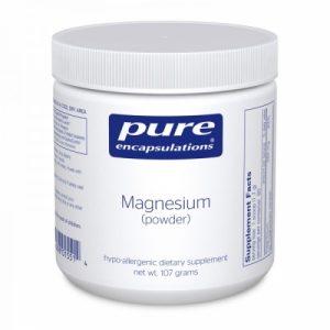 Magnesium Powder (citrate) 107g - Pure Encapsulations