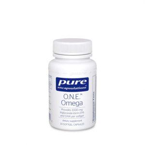 ONE Omega 30 softgels - Pure Encapsulations