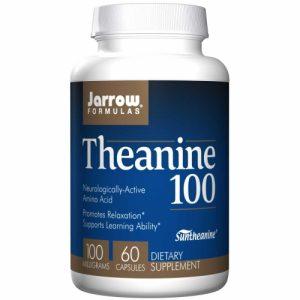 Theanine 100 (100mg) - 60 Veg Capsules - Jarrow