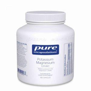 Potassium Magnesium (citrate) 180 vcaps - Pure Encapsulations