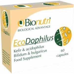EcoDophilus 60's Probiotic Support, 30 Day Supply - Bionutri
