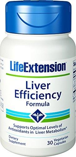 Liver Efficiency Formula, 30 veg caps - Life Extension