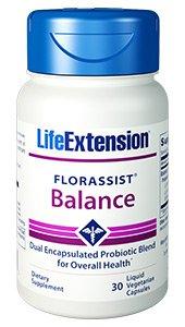FLORASSIST® Balance, 30 liquid veg caps - Life Extension - SOI**