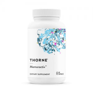 Memoractiv™ 60 capsules - Thorne Research - SOI**