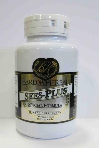 SEES-Plus, 100 caps - Barlow Herbals - SOI**