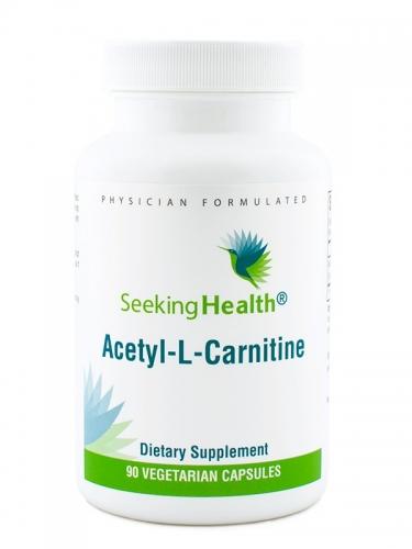 Acetyl-L-Carnitine, 500 mg, 90 veg caps - Seeking Health