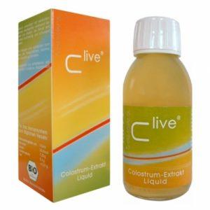 C-Live (C Live) Liquid Organic Cow Colostrum 125 ml - BioTec