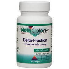 Delta-Fraction Tocotrienols 90 Gels - Nutricology / ARG