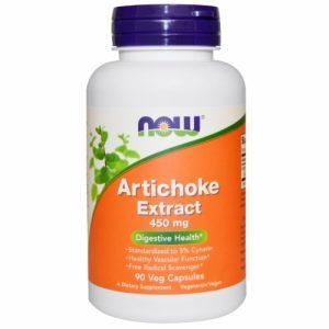 Artichoke Extract, 450 mg, 90 Veggie Caps, NOW Foods