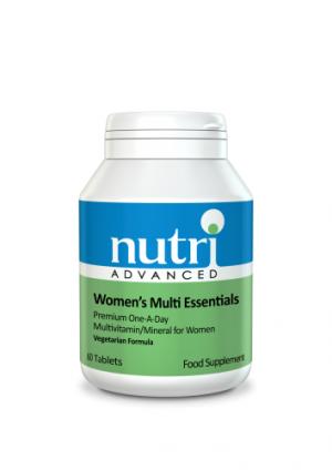 Women's Multi Essentials - 60 Tablets - Nutri Advanced