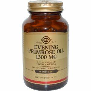 Evening Primrose Oil, 1300 mg, 60 Softgels - Solgar