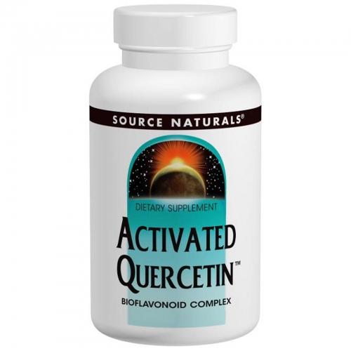 Activated Quercetin - 100 Caps - Source Naturals