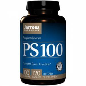 PS100, Phosphatidylserine, 100mg, 120 Capsules - Jarrow