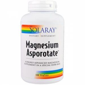 Magnesium Asporotate 180 veg caps - Solaray