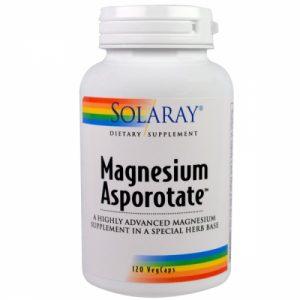 Magnesium Asporotate - 120 Veggie Caps - Solaray