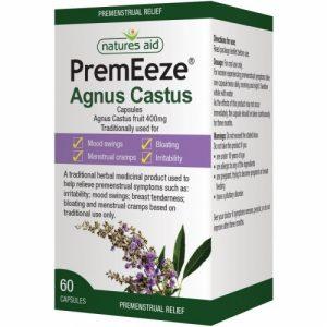 PremEeze® 400mg (Agnus Castus) 60 Caps - Nature's Aid