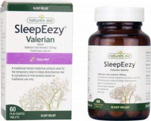 SleepEezy® 150mg (Valerian) 60 Tablets - Nature's Aid