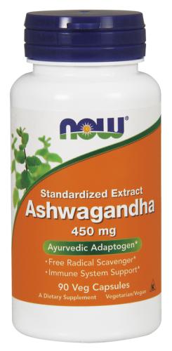 Ashwagandha, 450 mg, 90 Veg Capsules - Now Foods