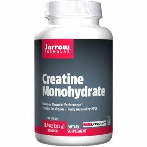 Creatine Monohydrate, Powder, 11.4 oz (325 g) - Jarrow Formulas