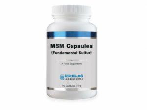 MSM (Fundamental Sulfur) 90 Capsules - Douglas Labs