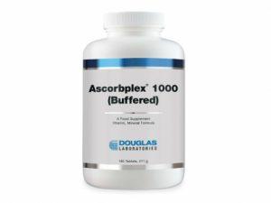 Ascorbplex 1000 (Buffered) - 180 Tablets - Douglas Labs