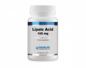 Lipoic Acid 100mg 60 Caps - Douglas Laboratories