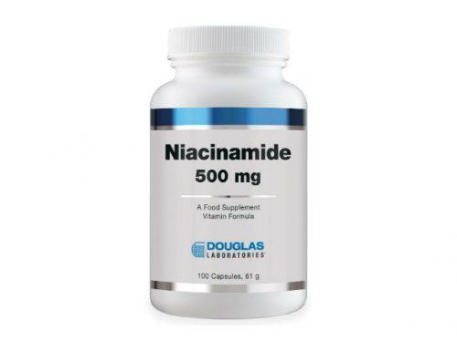 Niacinamide 500 mg 100 Capsules - Douglas Labs