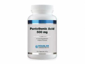 Pantothenic Acid 500 mg 100 Capsules - Douglas Labs