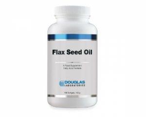 Flax Seed Oil Organic 100 Softgels - Douglas Labs