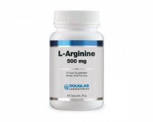 L-Arginine 500mg 60 Caps - Douglas Laboratories