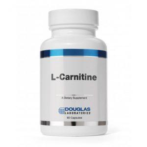 L-Carnitine 250 mg 60 Capsules - Douglas Laboratories