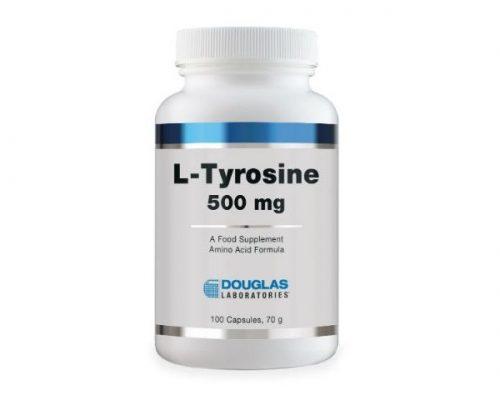 L-Tyrosine 500mg 100 Caps - Douglas Laboratories