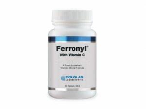 Ferronyl (with Vitamin C) 60 tabs - Douglas Labs