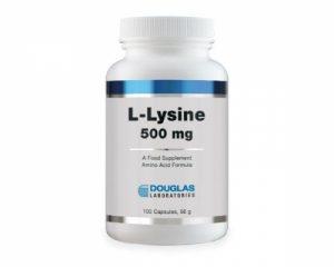 L-Lysine 500mg 100 caps - Douglas Labs