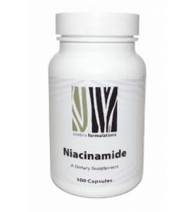 Niacinamide 500 mg (Vitamin B3) - 100 Capsules - Zeebra Formulations