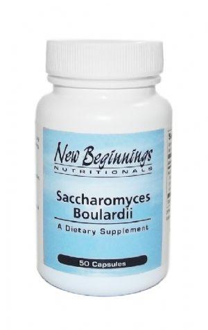 Saccharomyces Boulardii (50 capsules)  - New Beginnings