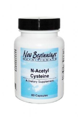 N-Acetyl Cysteine 500 mg - 60 Capsules - New Beginnings