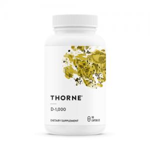 D-1,000 (D3 / D-3), 90 Vegetarian Capsules - Thorne Research